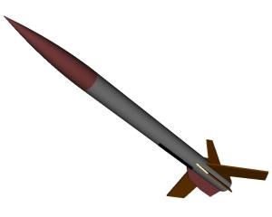 RockSim 3D rendering of Gryphon