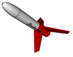 RockSim 3D rendering of Thunder Goon