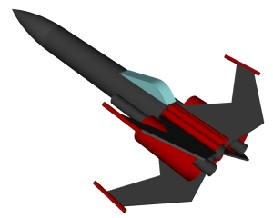 RockSim 3D rendering of Hostile Intentions IV
